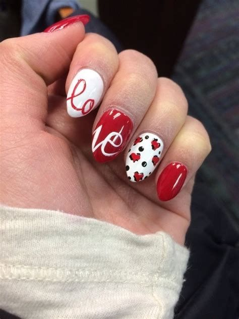 Cute Valentines Day Nails Art Ideas 09