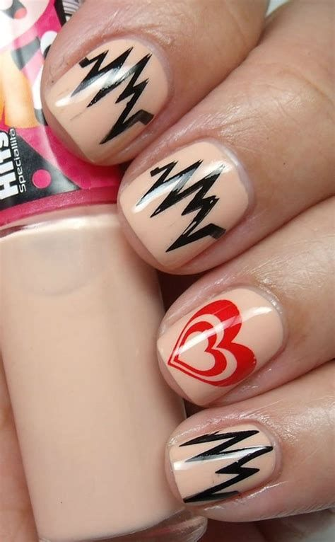 Cute Valentines Day Nails Art Ideas 18