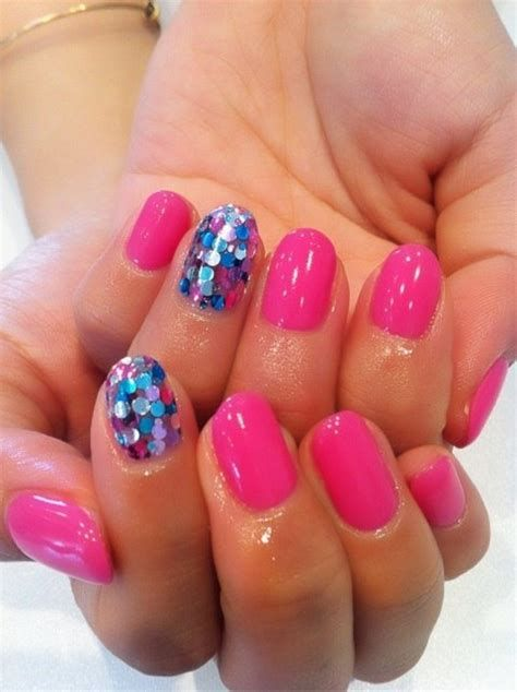 Cute Valentines Day Nails Art Ideas 31