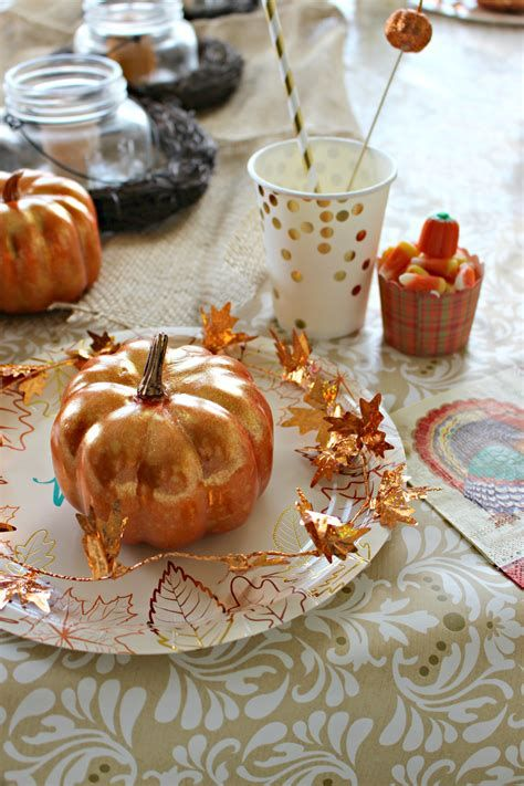 Elegant Decorate For Thanksgiving On A Budget 07