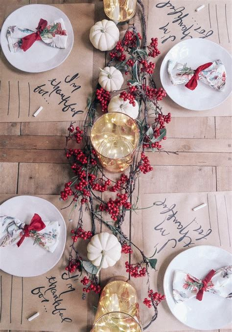 Elegant Decorate For Thanksgiving On A Budget 10