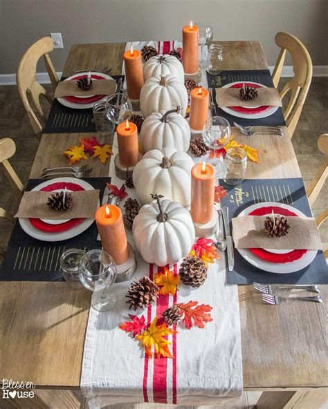 Elegant Decorate For Thanksgiving On A Budget 21