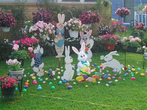 Gorgeous Diy Easter Yard Decorations 01