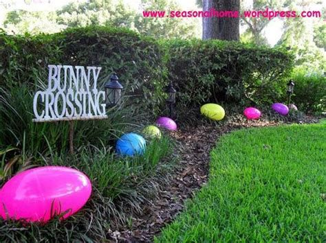 Gorgeous Diy Easter Yard Decorations 04