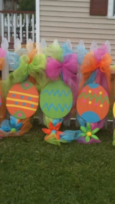 Gorgeous Diy Easter Yard Decorations 07