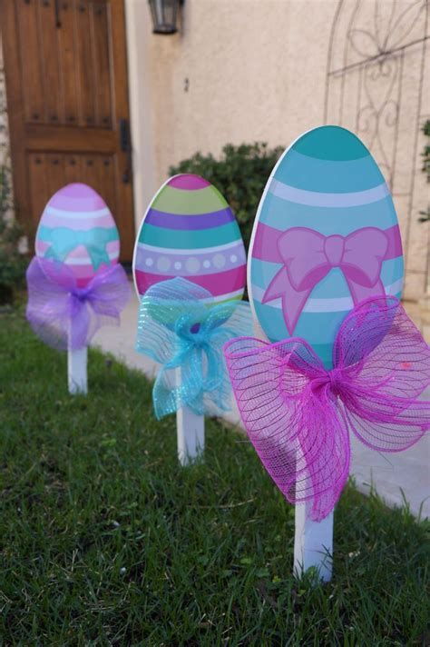 Gorgeous Diy Easter Yard Decorations 08