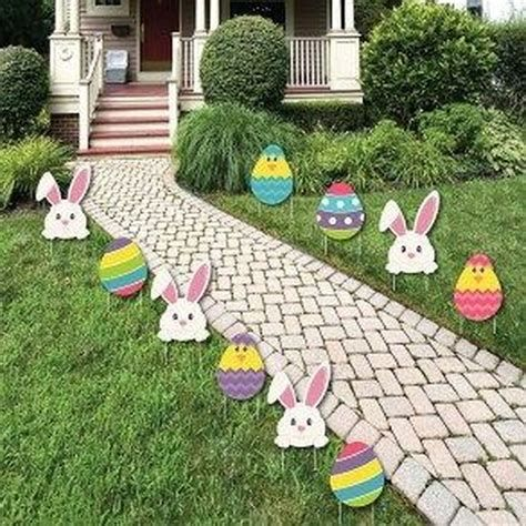 Gorgeous Diy Easter Yard Decorations 21