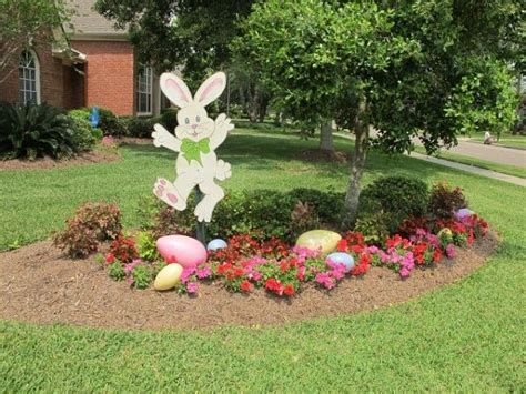 Gorgeous Diy Easter Yard Decorations 31