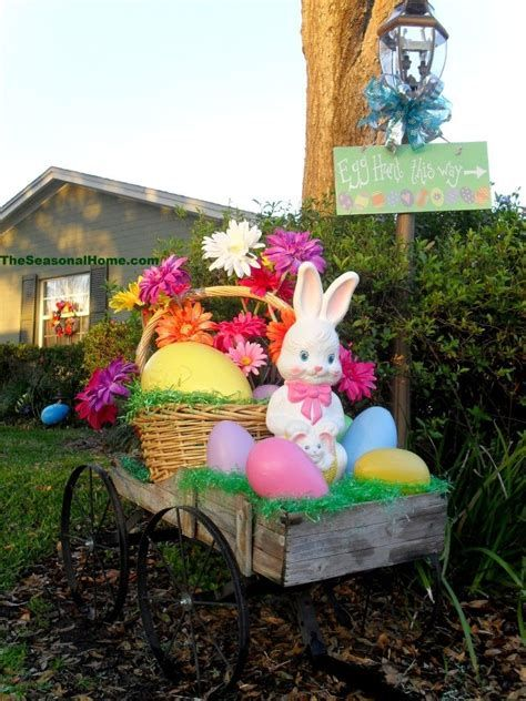 Gorgeous Diy Easter Yard Decorations 41