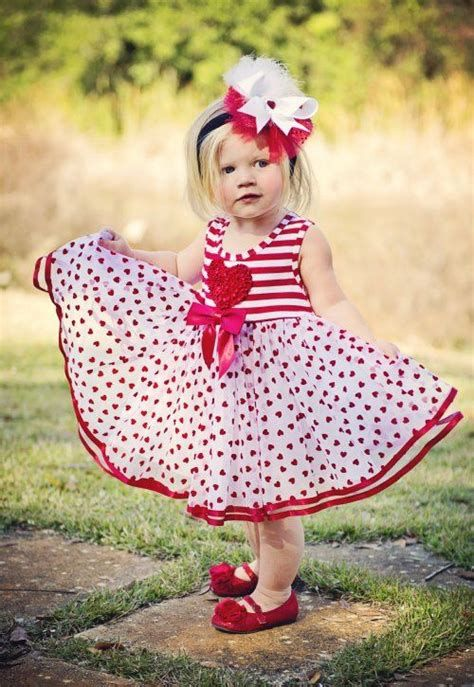 Gorgeous Valentine Day Outfits For Toddlers 01