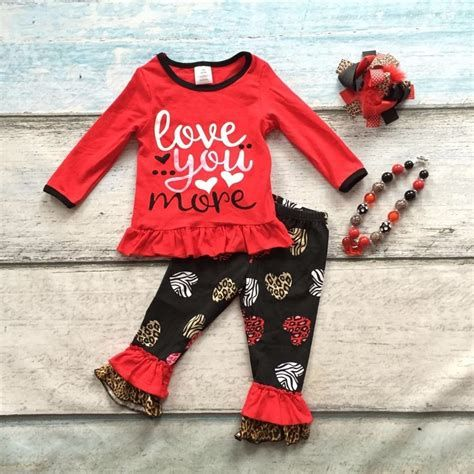 Gorgeous Valentine Day Outfits For Toddlers 10