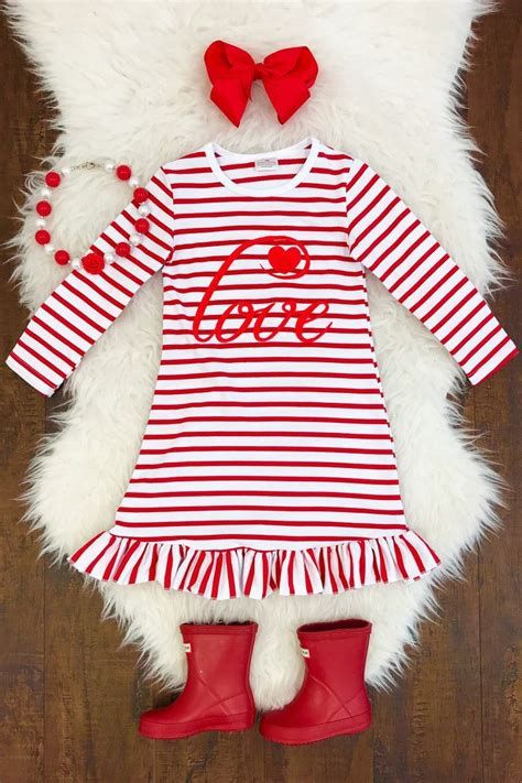 Gorgeous Valentine Day Outfits For Toddlers 20