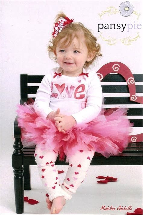 Gorgeous Valentine Day Outfits For Toddlers 23
