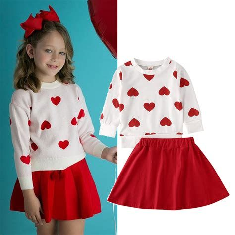 Gorgeous Valentine Day Outfits For Toddlers 41