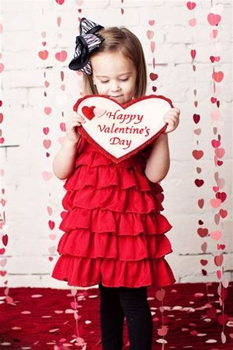 Gorgeous Valentine Day Outfits For Toddlers 45