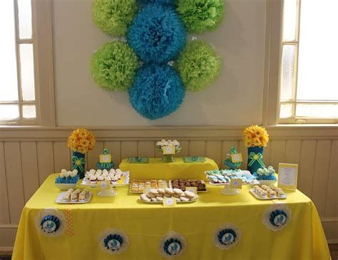 Inspiring Blue And Yellow Party Decoration Ideas 07