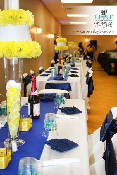 Inspiring Blue And Yellow Party Decoration Ideas 08
