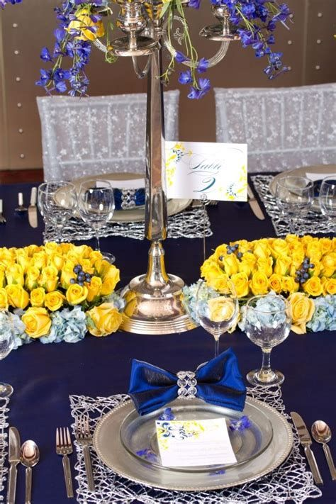 Inspiring Blue And Yellow Party Decoration Ideas 10