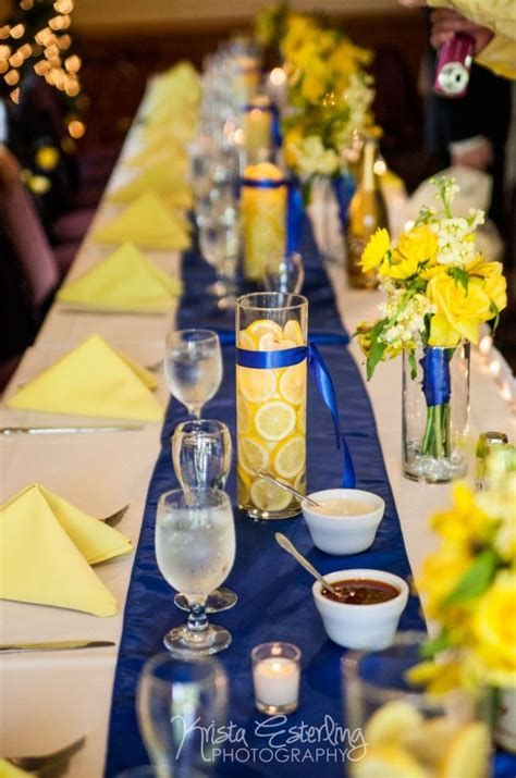 Inspiring Blue And Yellow Party Decoration Ideas 11