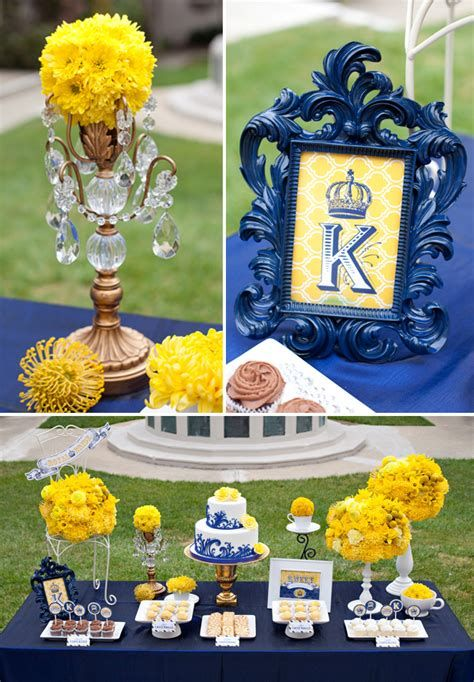 Inspiring Blue And Yellow Party Decoration Ideas 12