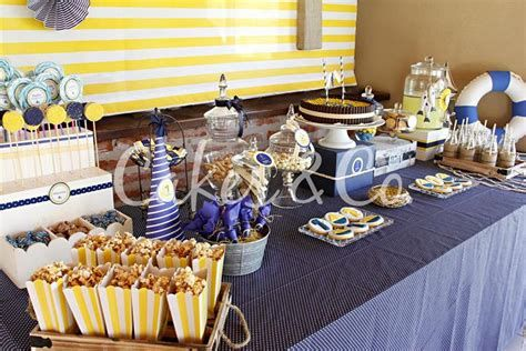 Inspiring Blue And Yellow Party Decoration Ideas 14