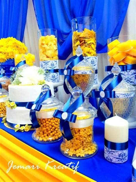Inspiring Blue And Yellow Party Decoration Ideas 16