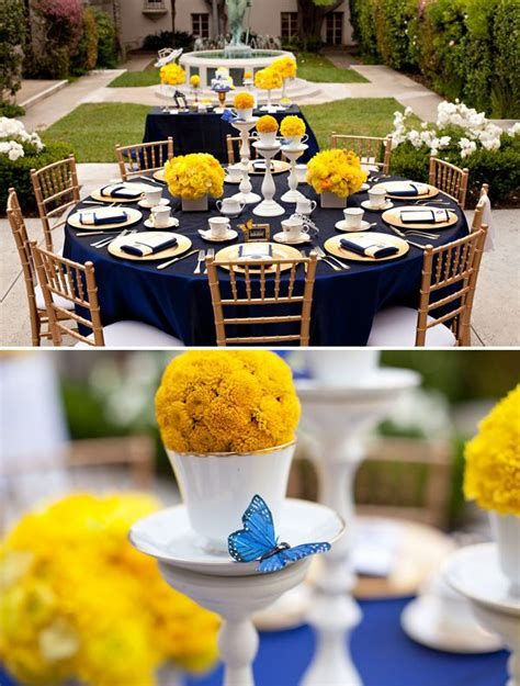 Inspiring Blue And Yellow Party Decoration Ideas 18