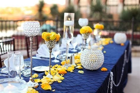 Inspiring Blue And Yellow Party Decoration Ideas 19