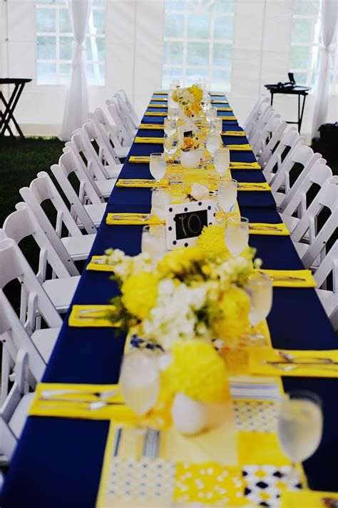 Inspiring Blue And Yellow Party Decoration Ideas 20