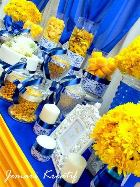 Inspiring Blue And Yellow Party Decoration Ideas 21
