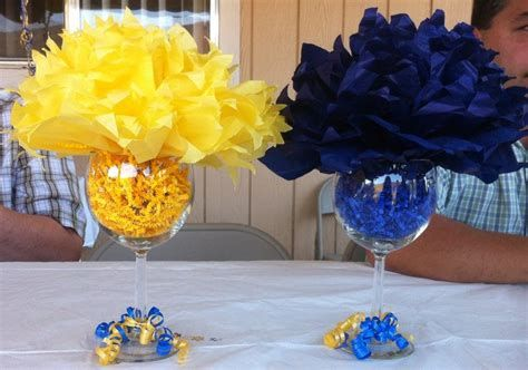 Inspiring Blue And Yellow Party Decoration Ideas 22