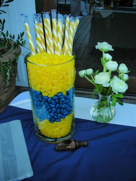 Inspiring Blue And Yellow Party Decoration Ideas 23