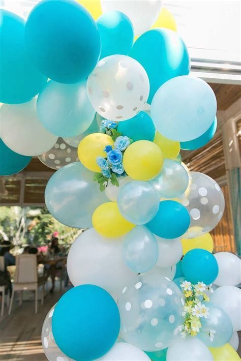 Inspiring Blue And Yellow Party Decoration Ideas 24