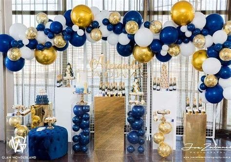 Inspiring Blue And Yellow Party Decoration Ideas 26