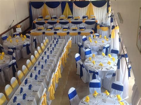 Inspiring Blue And Yellow Party Decoration Ideas 27