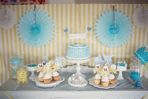Inspiring Blue And Yellow Party Decoration Ideas 32