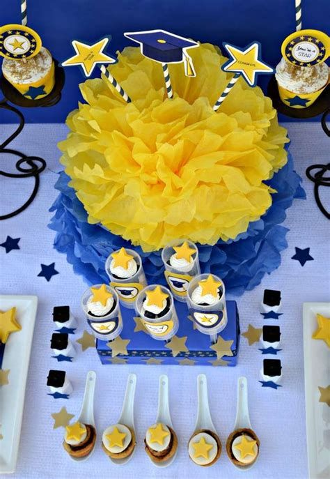 Inspiring Blue And Yellow Party Decoration Ideas 34