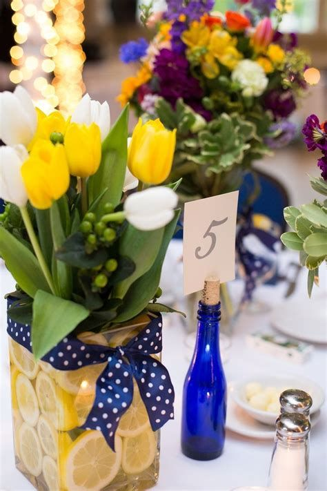 Inspiring Blue And Yellow Party Decoration Ideas 35