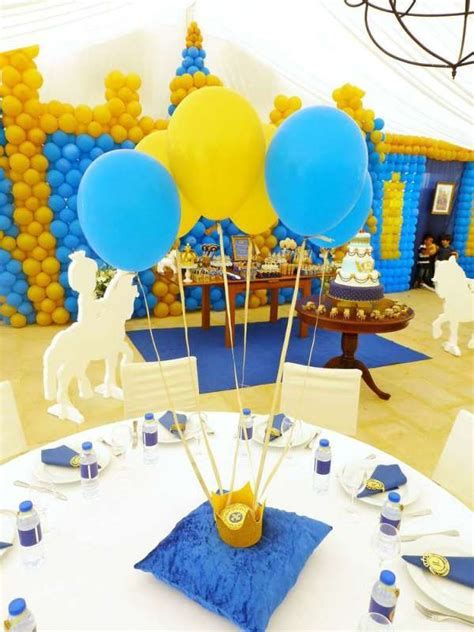 Inspiring Blue And Yellow Party Decoration Ideas 36