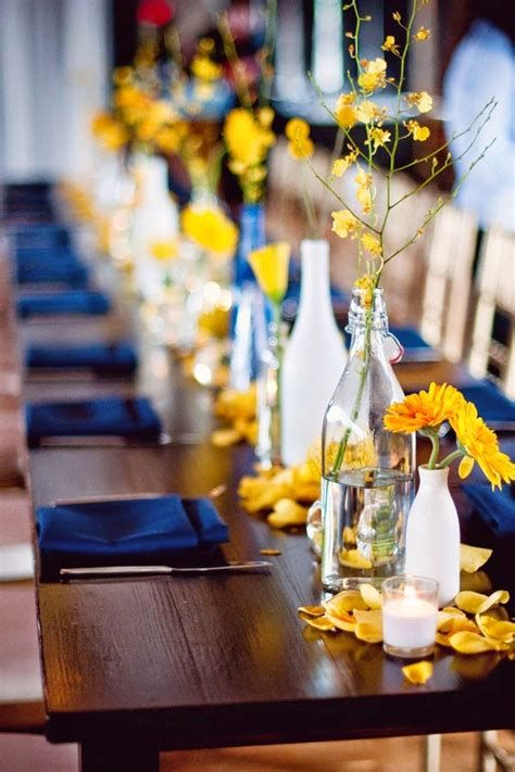 Inspiring Blue And Yellow Party Decoration Ideas 38