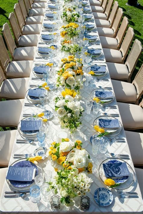 Inspiring Blue And Yellow Party Decoration Ideas 39