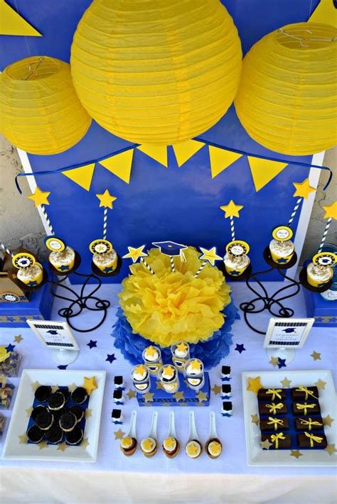 Inspiring Blue And Yellow Party Decoration Ideas 40
