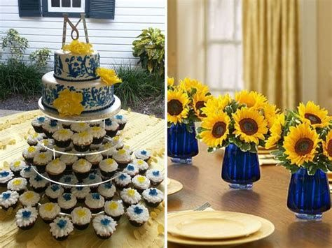 Inspiring Blue And Yellow Party Decoration Ideas 43
