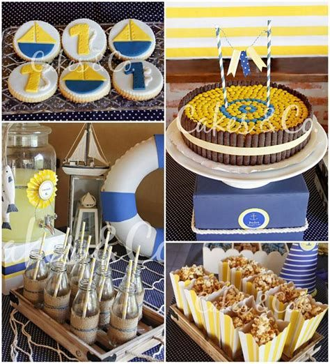 Inspiring Blue And Yellow Party Decoration Ideas 45
