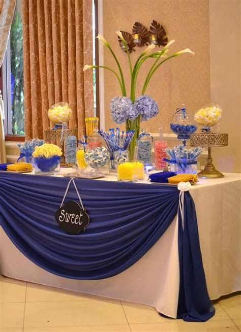 Inspiring Blue And Yellow Party Decoration Ideas 46