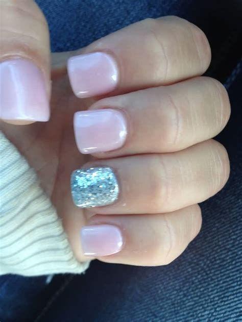 Inspiring Silver And Pink Nails 05