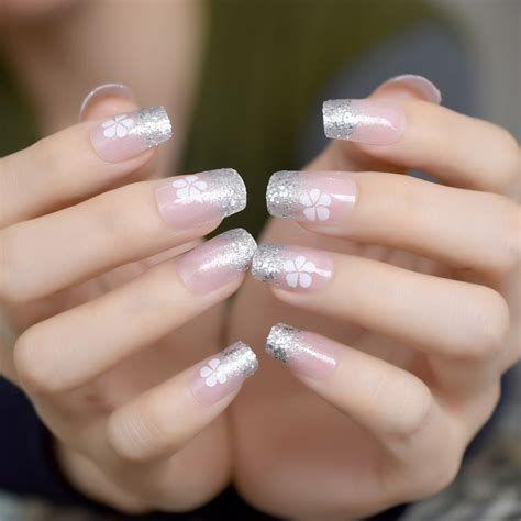 Inspiring Silver And Pink Nails 08