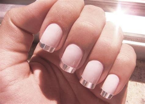 Inspiring Silver And Pink Nails 10