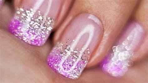Inspiring Silver And Pink Nails 14