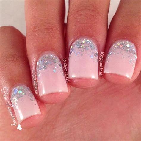 Inspiring Silver And Pink Nails 24